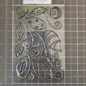 🏵 Stampendous 🏵  Petal Flourish Clear Stamps Set